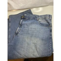 626 Blue ~ Vintage Surplus Co ~ Relaxed Fit Straight Leg ~ 58 x 34