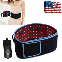 Laser Lipo Belt LED Red Light Therapy Belt Pain Relief Near Infrared Weight Loss