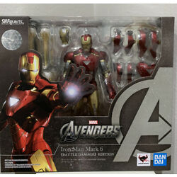 Marvel Avengers S.H.Figuarts Iron Man Mark 6 Battle Of New York Edition IN STOCK