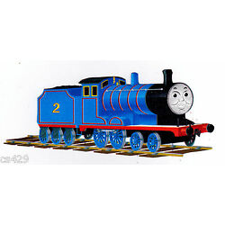 train Thomas wall decal prepasted border cut out 4.5 inch