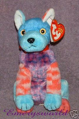 7cee6de61d1 Details about TY Beanie Babies Hodge-Podge the dog Retired