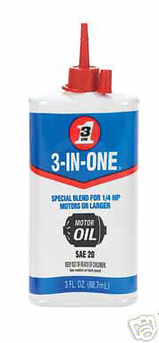 3 in one electric motor oil ebay for How to lubricate an electric motor