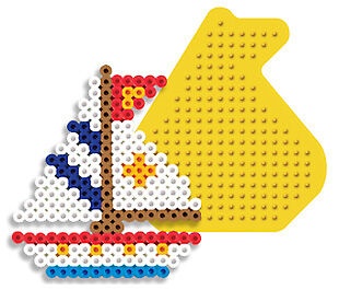 sailboat pegboard for perler fuse new ebay