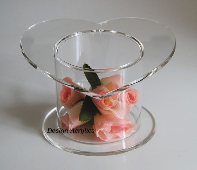 heart shaped wedding cake stand top acrylic cake separator stand wedding display ebay 15167