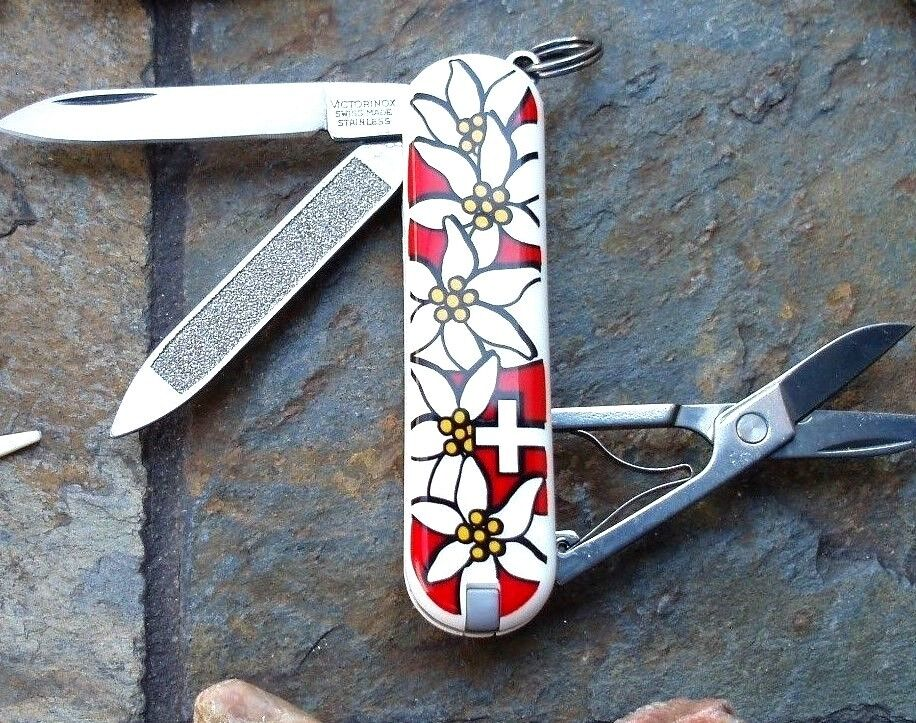 Victorinox Edelweiss Classic Red Original Swiss Army Knife