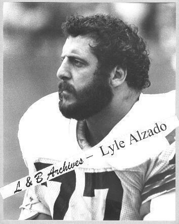 LYLE ALZADO Broncos Browns Raiders 1980 Sidelines Photo | eBay