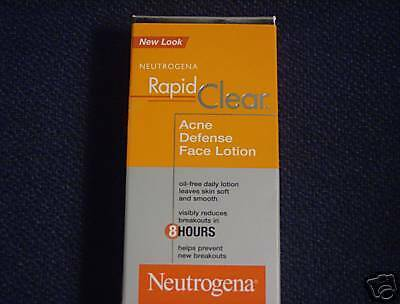 Neutrogena Rapid Clear Acne Defense Face Lotion  | eBay