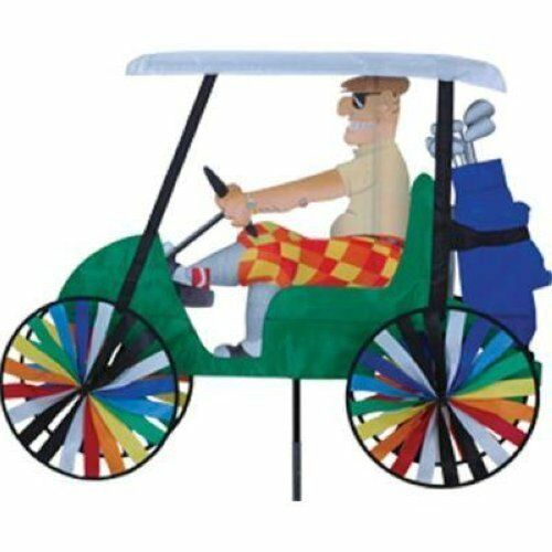 Premier designs windgarden golf cart spinner ebay for Garden spinners premier designs