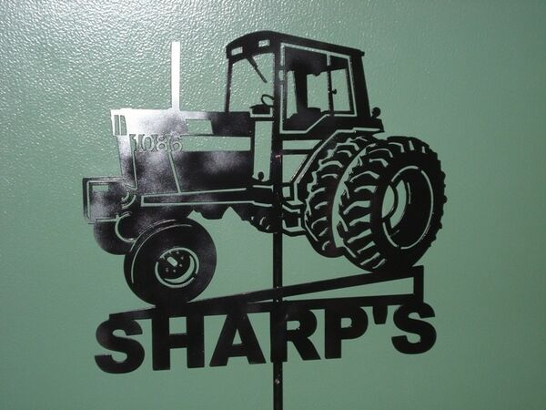 Farm tractor sign ford international harvester ebay for International harvester decor