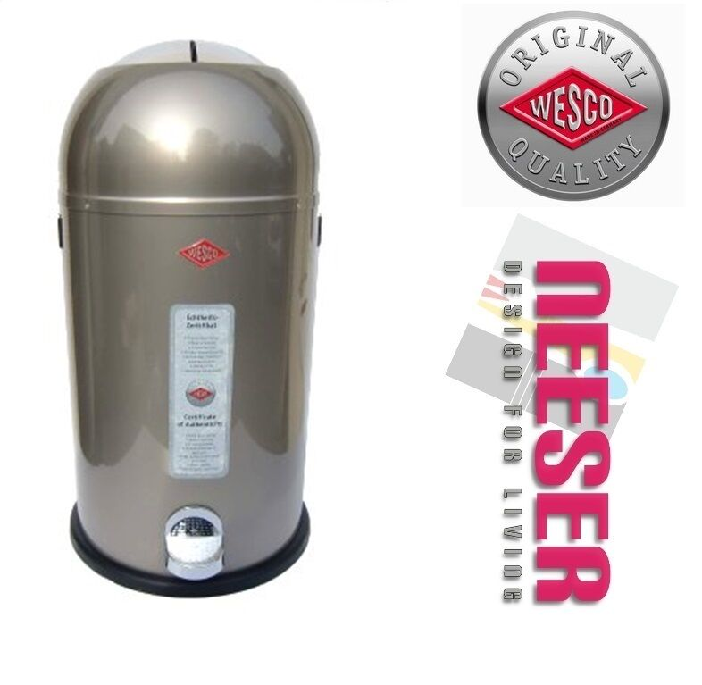 wesco kickmaster 33l design abfalleimer m lleimer. Black Bedroom Furniture Sets. Home Design Ideas