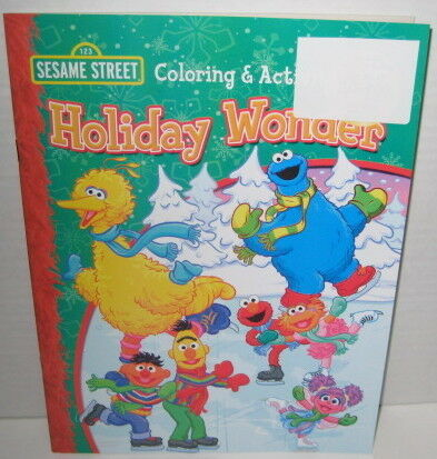 SESAME STREET HOLIDAY WONDER COLORING Amp ACTIVITY BOOK