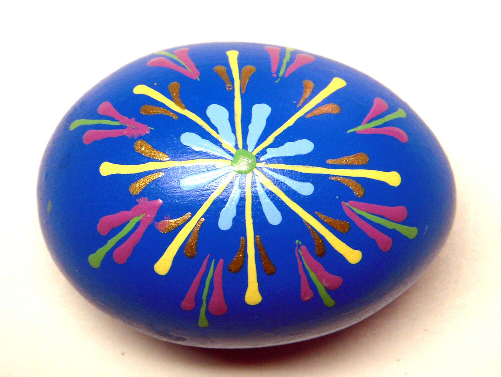 Ceramic hand painted egg db ebay for Can ceramic be painted
