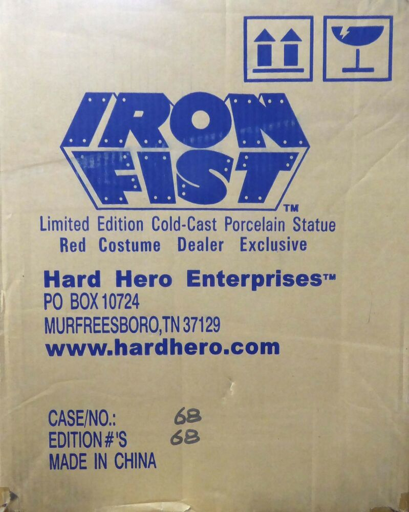 Red iron fist