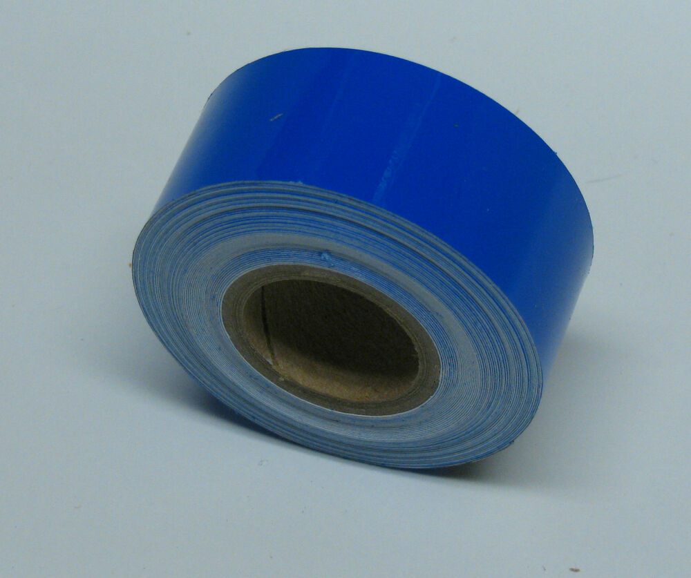 Blue Transparent Plastic Tape 1 Inch X 25 Feet Adhesive