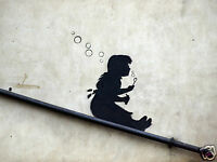 QUALITY BANKSY ART PHOTO PRINT (BUBBLES)