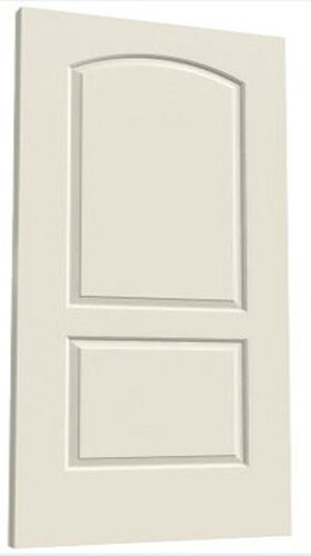 arch primed molded solid core wood composite doors prehung ebay