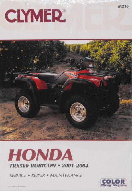 New Honda Atv Trx500 500 Rubicon Repair Manual New