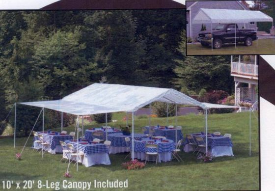 Apartment Patio Tent Shelterlogic 20ft : Shelter logic  in canopy pack new ebay
