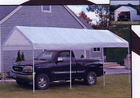 Shelter Logic 23529 10 X 20 2 In 1 Canopy Pack New Ebay