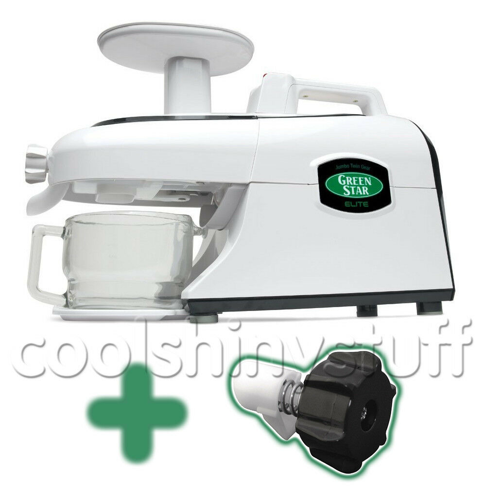 Slow Juicer Green Star Elite : Green Star ELITE GSE-5000 Juicer GreenStar wheatgrass eBay