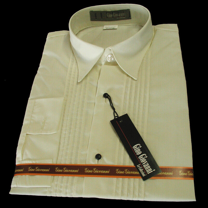 Gino Giovanni Boy Ivory Tuxedo Shirt From Baby To Teen Ebay