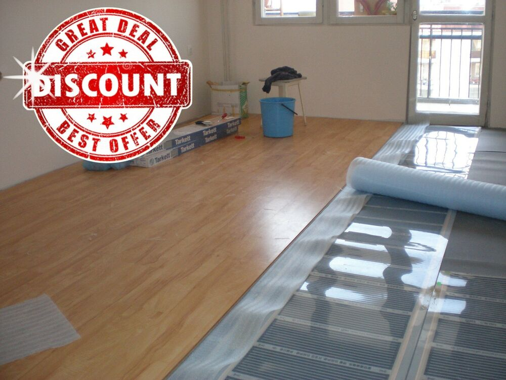 Infrared Carbon Under Laminate Floor Heating System 86 96