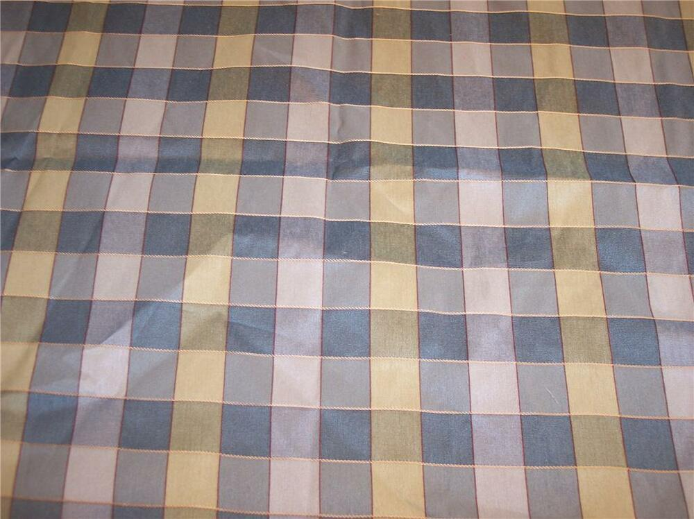 green yellow plaid fabric upholstery fabric remnant f1175. Black Bedroom Furniture Sets. Home Design Ideas