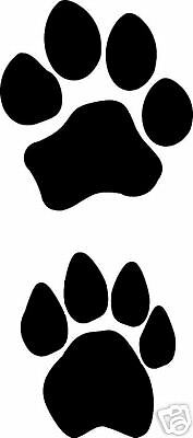 Aninimal Book: lion track / footprint sticker / paw print decal/ set of 4 | eBay