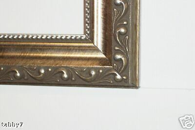 8x8 Ornate Antique Silver Scrolled Picture Frames Ebay