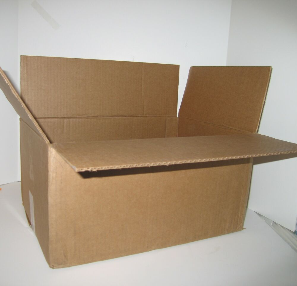 18x18x6 corrugated packing shipping moving boxes 20 ebay. Black Bedroom Furniture Sets. Home Design Ideas