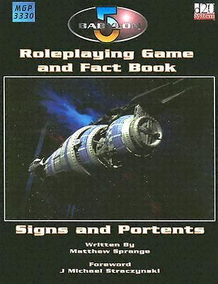 Signs portents babylon 5 rpg book role play 1904577113 for Sign and portents