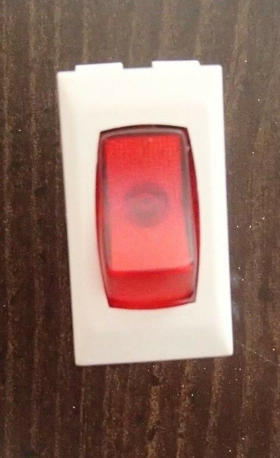 New  Sigma On Off Light Switch Lit Red Almond Camper Rv