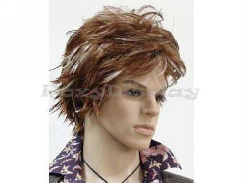 Hair Styling Mannequin Head: Male Wig Mannequin Head Hair For Mannequin Only #WG-M17