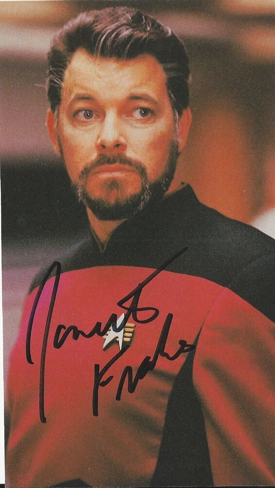 Also not jonathan frakes asian heritage was specially