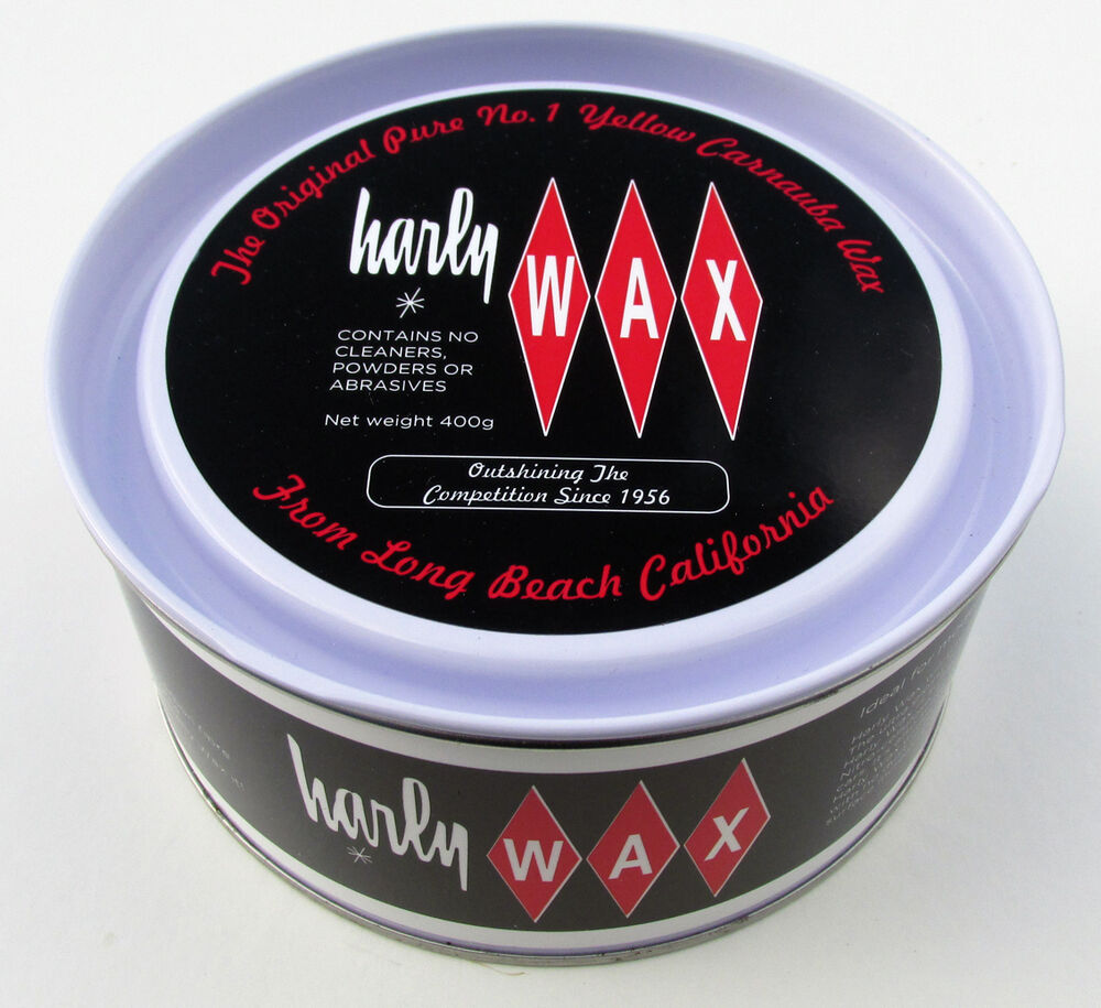 harly wax car polish pure carnauba wax harley ebay. Black Bedroom Furniture Sets. Home Design Ideas