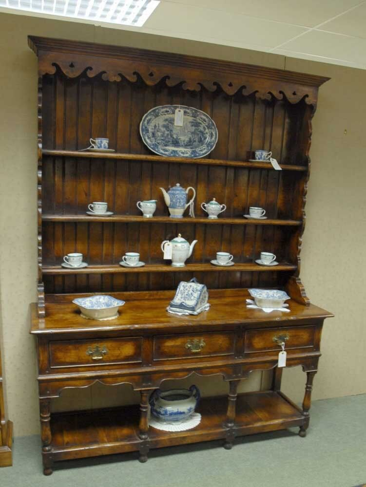 English Farmhouse Kitchen Dresser Oak Furniture Ebay