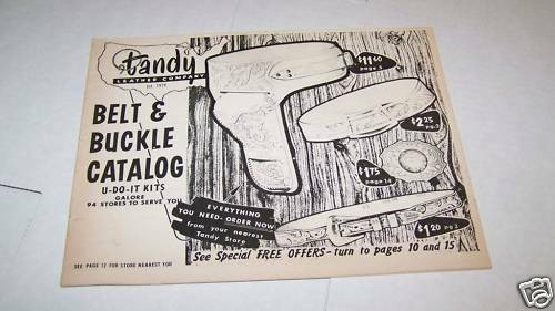 Tandy Leather Catalog 90