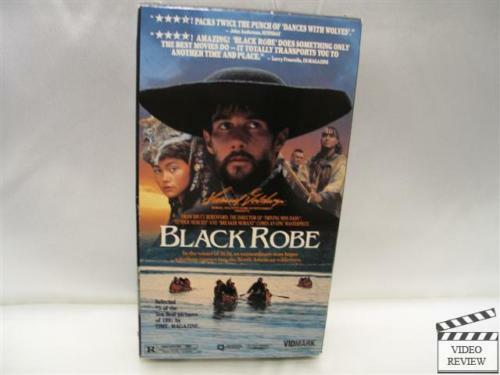 black robe summary Complete summary of brian moore's black robe enotes plot summaries cover  all the significant action of black robe.