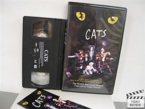 Sell Vhs Tapes >> Cats: The Musical (VHS, 1998) Excellent Condition 44005707137 | eBay