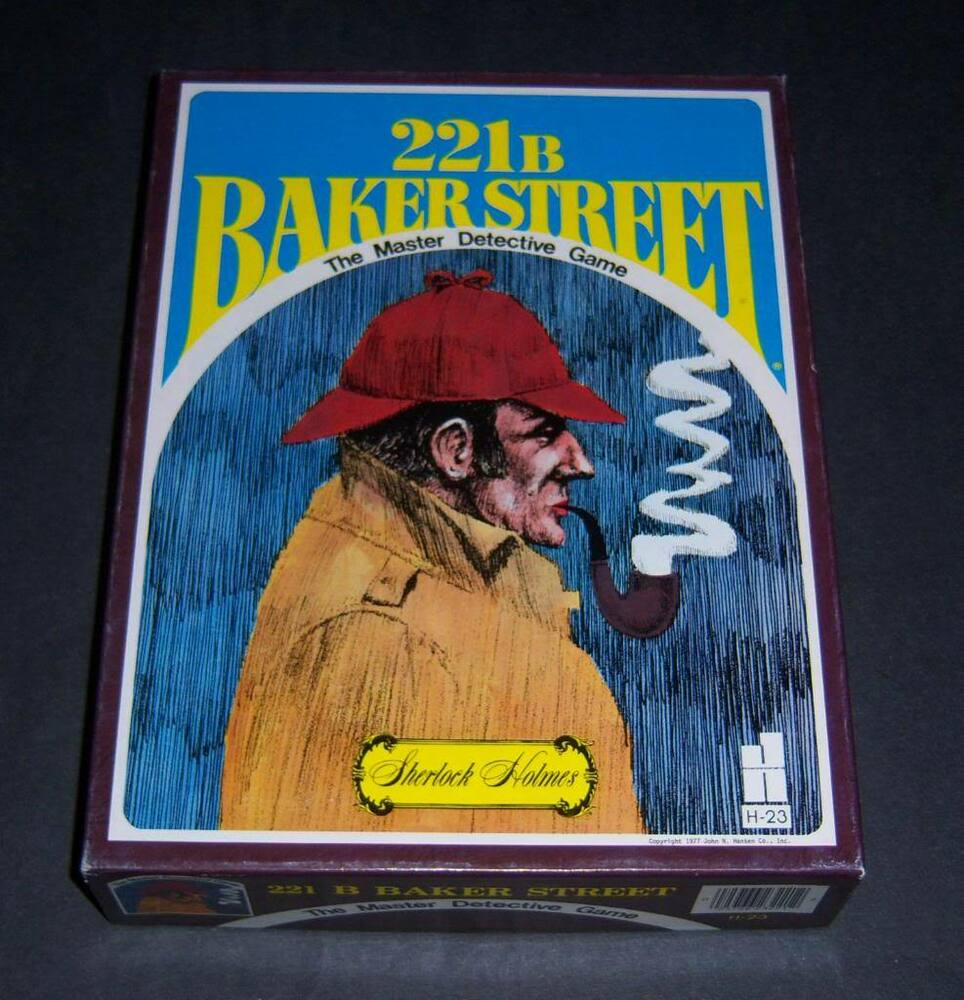 221B Baker Street (board game) | Card Game Database Wiki ...