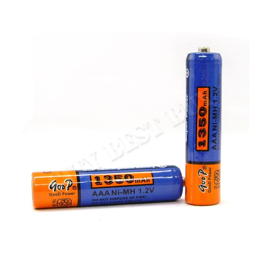 2 pcs 3a aaa 1350mah 1 2v nimh recharge rechargeable battery cell ebay. Black Bedroom Furniture Sets. Home Design Ideas