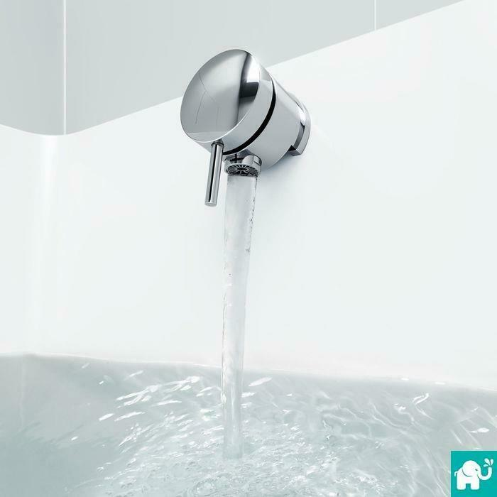 Chrome Bath Overflow Filler Tap Pop Up Waste Tw23 Ebay