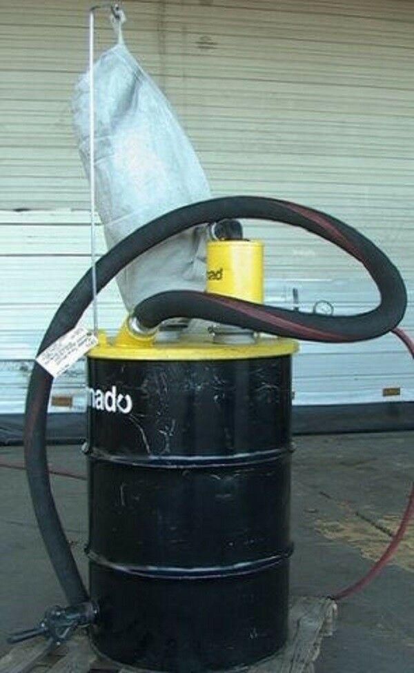 Tornado Air Operated Wet Dry Sandblast Media Vacuum 55g Ebay