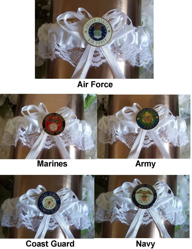 Military US GARTER Bridal garder eBay