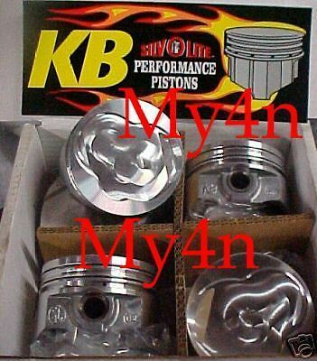 Toyota 22R 22RE Performance piston set Keith Black 9.7 | eBay