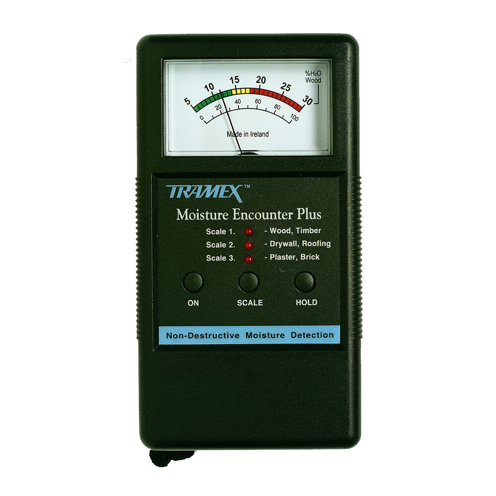 Tramex Moisture Encounter Plus Damp Meter Mep Ebay