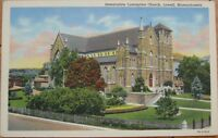 1940 Linen-Immaculate Conception Church-Lowell, Mass MA