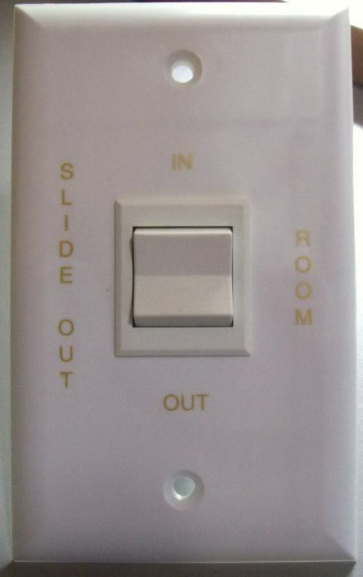 New Camper Sigma Slide Out Room Switch Momentary In Out Ebay