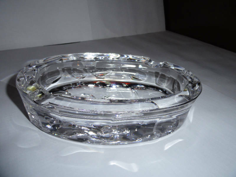 Mario Cioni Crystal Cigar Ashtray Ebay