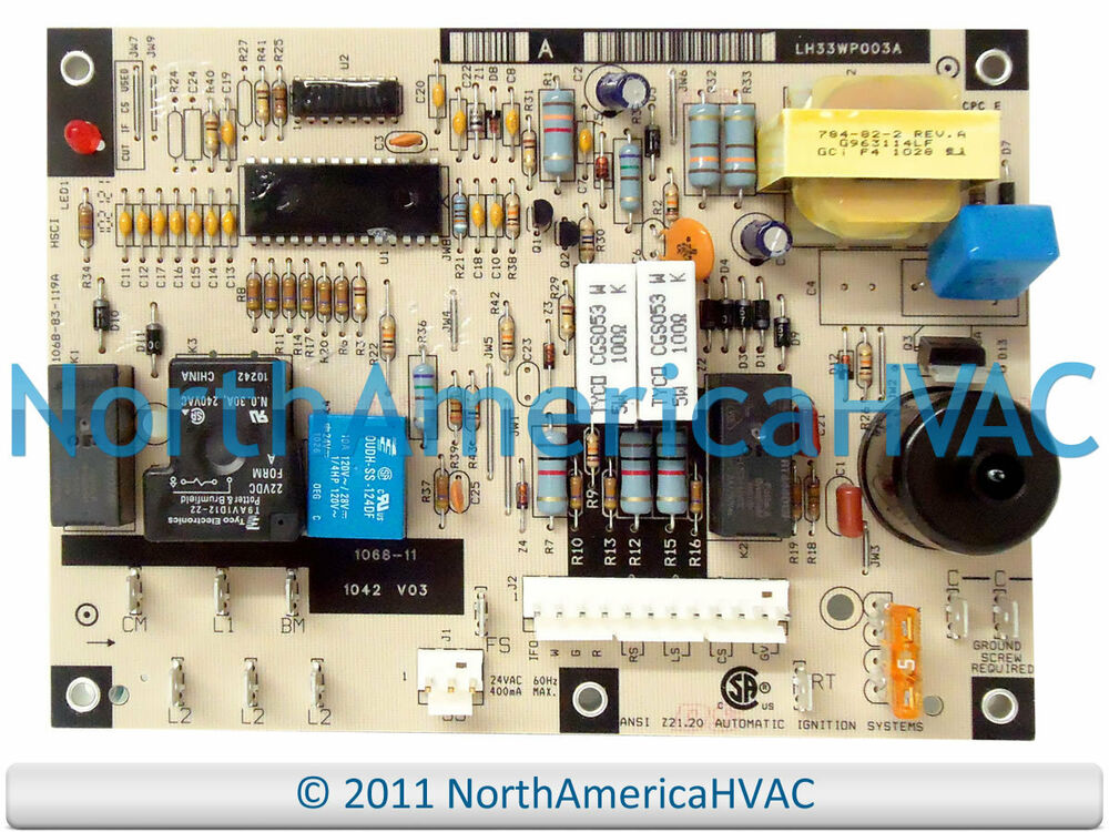 s l1000 carrier bryant furnace control circuit board lh33wp003a ebay lh33wp003a wiring diagram at alyssarenee.co